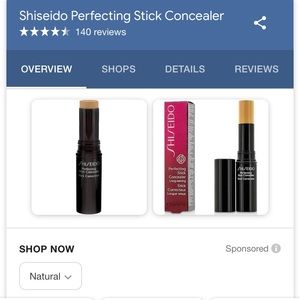 Shiseido Makeup - Brand new Shiseido perfecting stick concealer